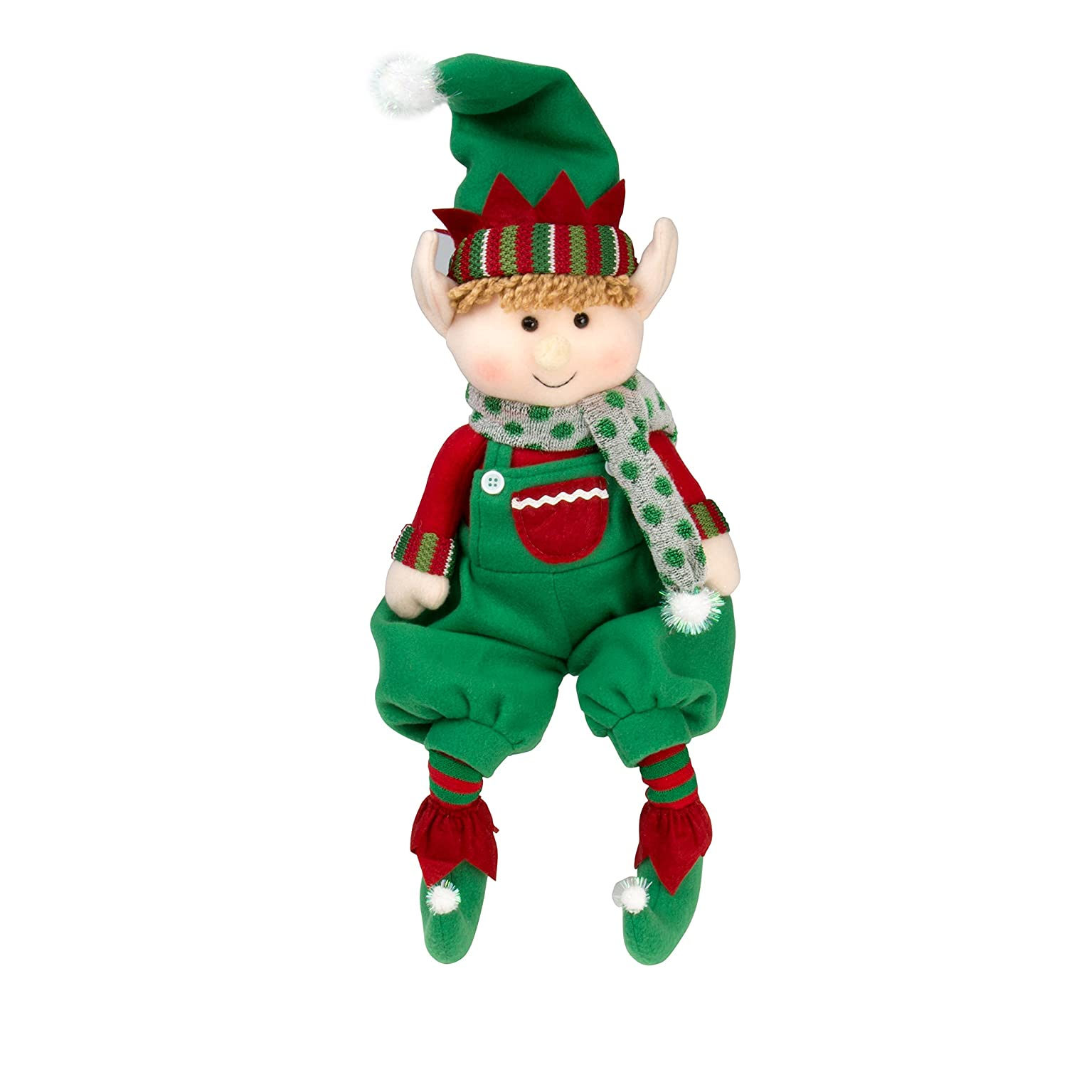 "Amazon Elf Plush Christmas Stuffed Toys 12"" Boy and Girl"