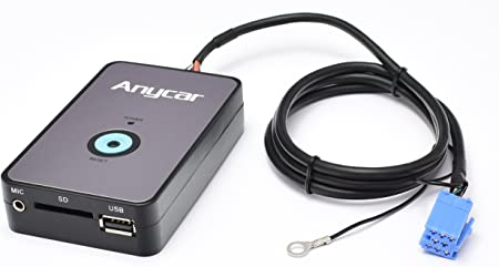 Usb Sd Aux Mp3 Adaptor With Bluetooth For Audi With Computers Accessories