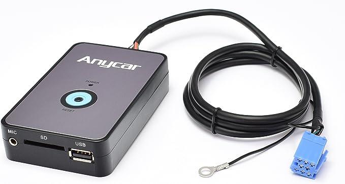Anycar Usb Sd Aux Mp3 Adapter Bluetooth Computer Zubehör
