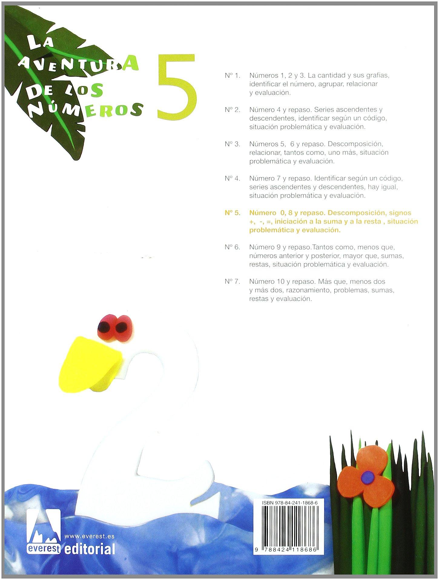 La aventura de los números 5 - 9788424118686: Amazon.es: Díez Torío Ana  María, Estébanez Estébanez Aurora, Calvo Rojo María del Carmen: Libros