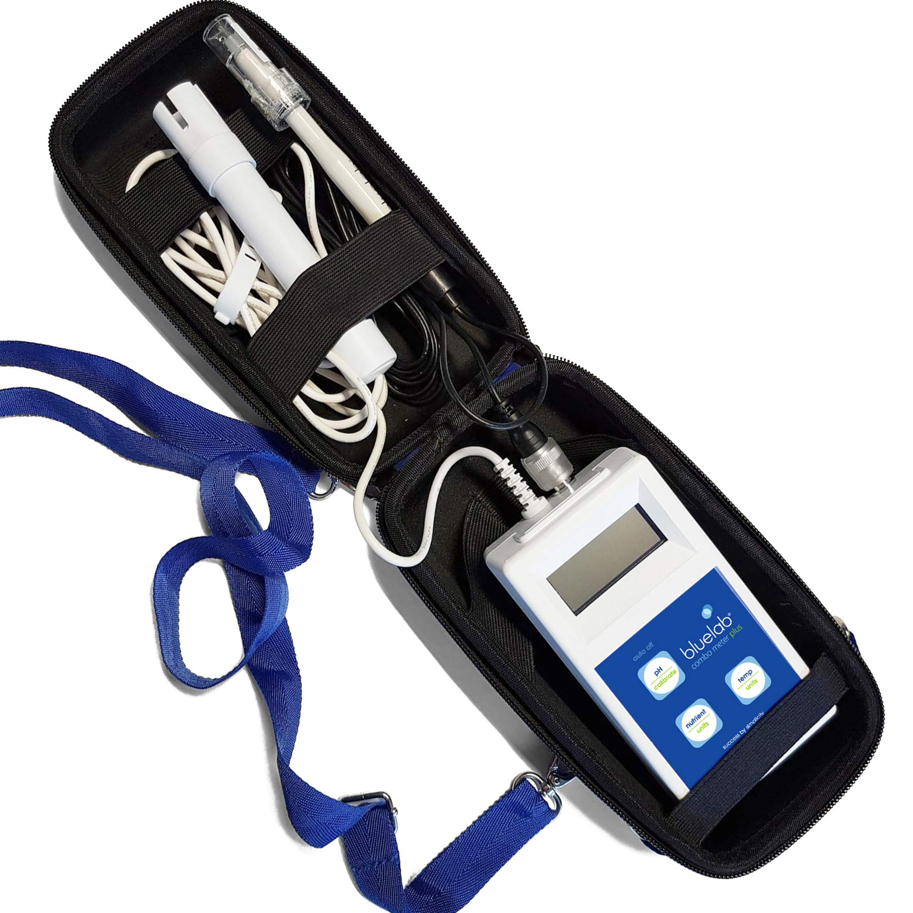 Bluelab Combo Meter Plus - Handheld Digital Hydroponic Nutrient and pH Meter for Measuring pH Levels, Conductivity & Temperature in Soil & Plants - Accurate pH Measurements - Bonus Carry Case Included by Bluelab (Image #8)