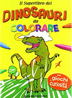 Amazon It Dinosauro Disegni Da Colorare Per I Bambini Coloring