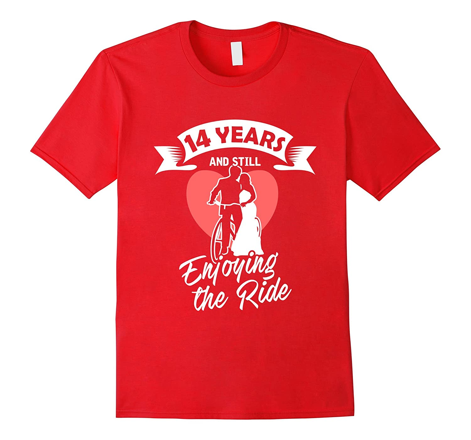 14th Wedding Anniversary T-Shirt Gift - Perfect Couple Tee-PL