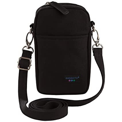 Amazon.com: Aapporto Cell Phone Purse Bag - For iPhone 7 Plus ...