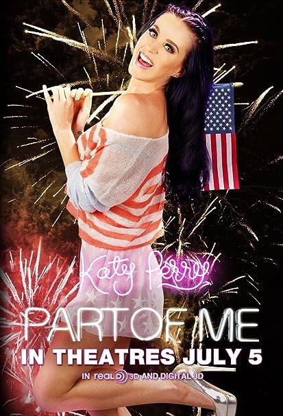 Amazoncom Katy Perry Part Of Me Original Authentic Movie Promo