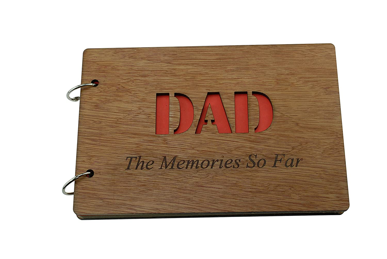 DAD The Memories So Far - Scrapbook, Photo album or Notebook Idea For DAD, Fathersday or Birthday Gifts Pirantin