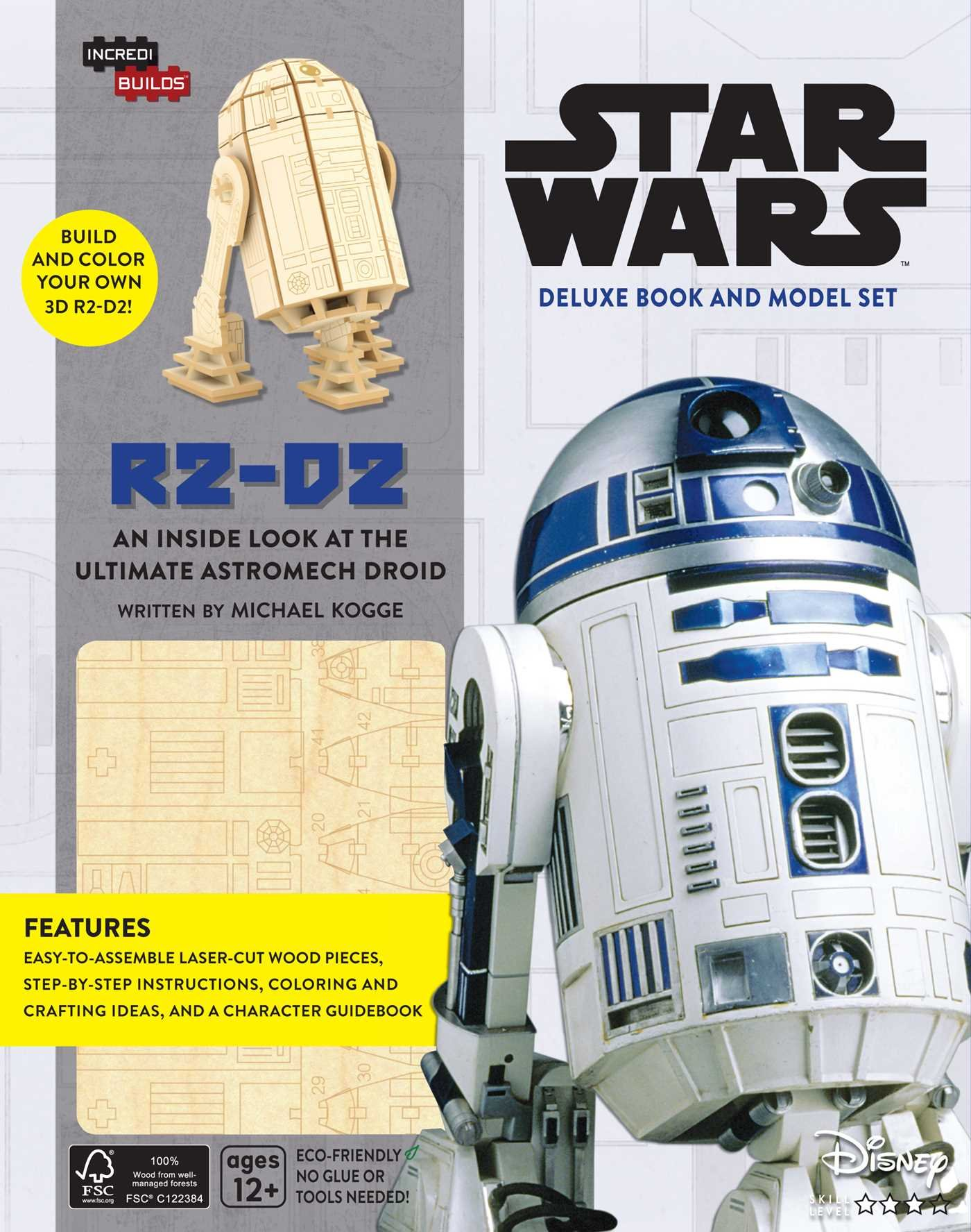 Star Wars. R2-D2 Deluxe Book And Model Set (Incredibuilds)