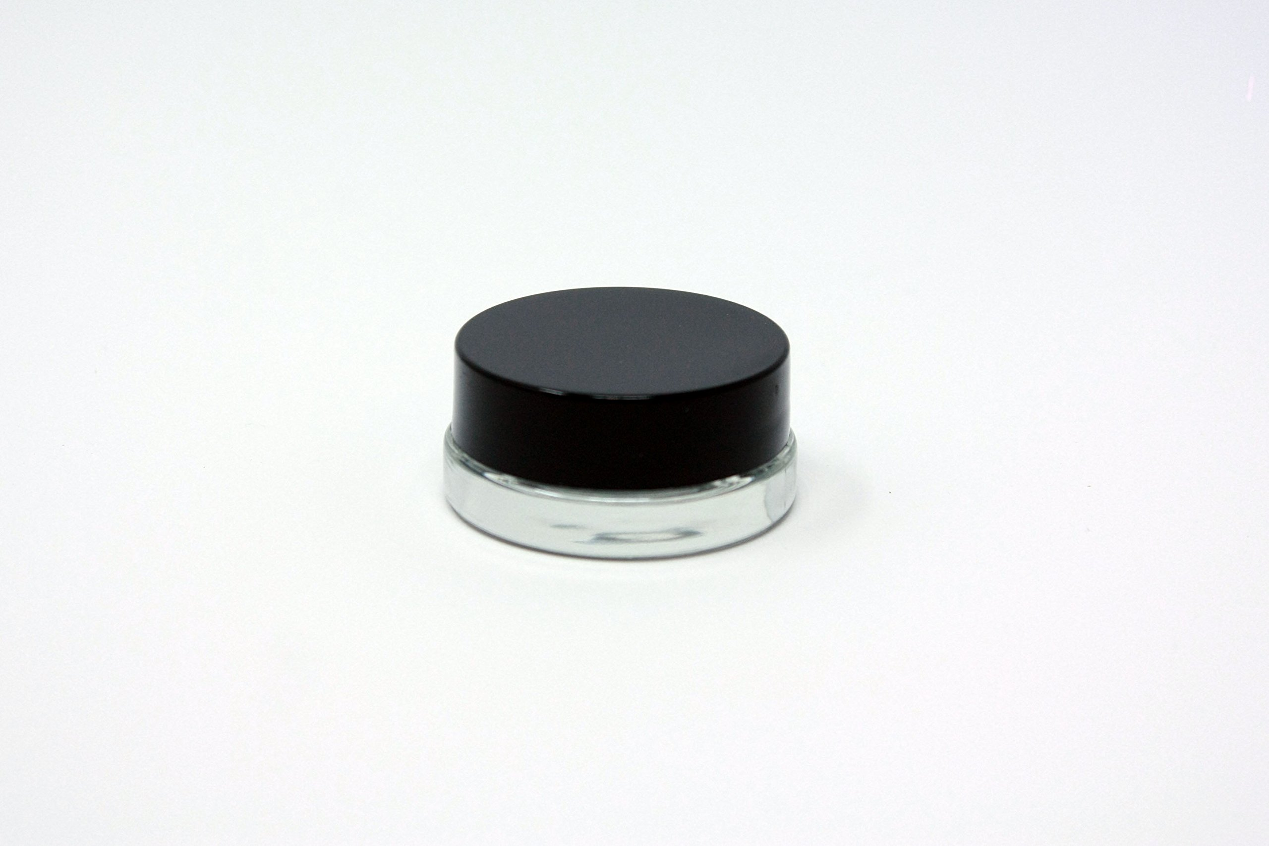 180pcs Thick Bottom Low Profile 7ml Glass Concentrate Jars with Black Lids : Air tight container for medical oils, rosins, waxes, and saucy diamonds by Slick (Image #2)