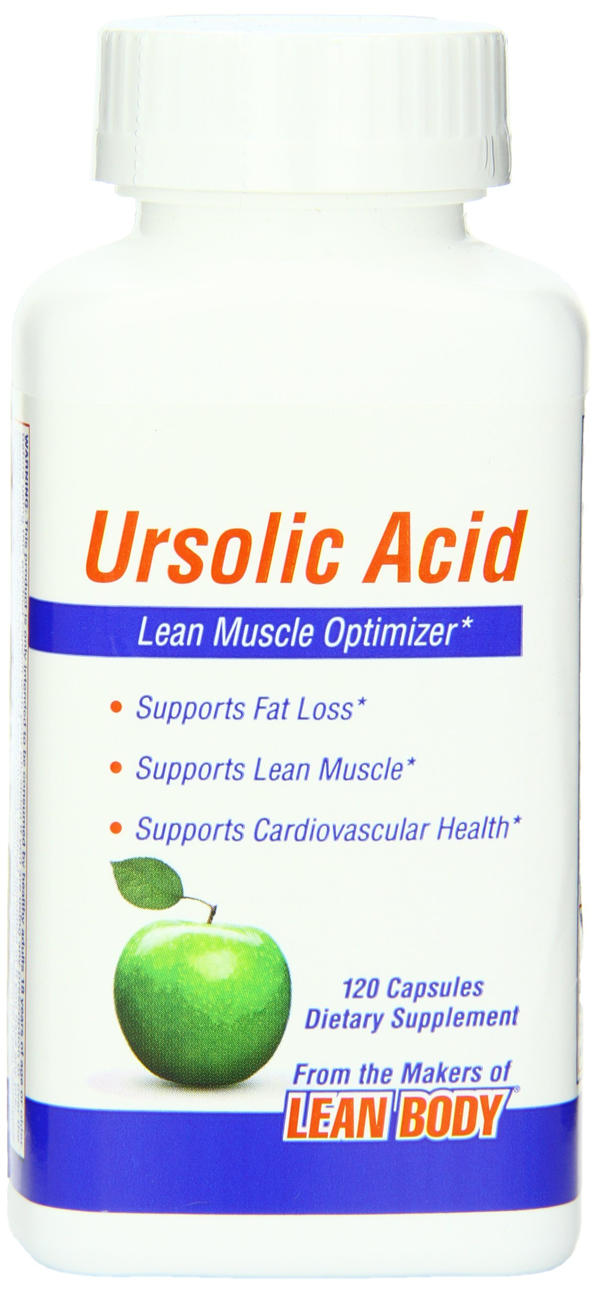 Labrada Nutrition Ursolic Acid Capsules 200Mg, 120 Count
