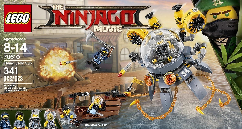 Muñeco del submarino-medusa volador de Ninjago (70610) de Lego , Modelos/colores Surtidos, 1 Unidad