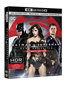 Batman V Superman - Dawn Of Justice (Blu-Ray 4K Ultra HD+Blu-Ray+Copia Digitale) [Italia] [Blu-ray]