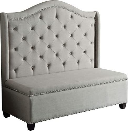 ACME Furniture Fairly 57262 Storage Settee