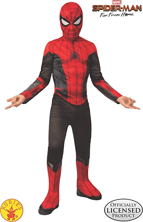Amazon.com: Rubies Disfraz de Spider Man Lejos de casa ...