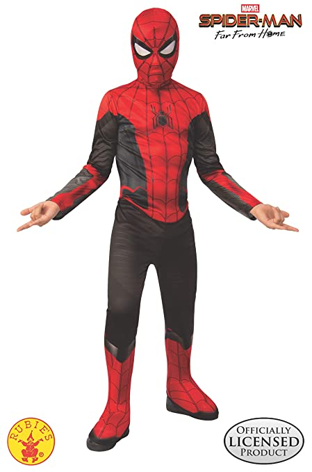 Amazon.com: Rubies Costume Spider Man Far From Home Red ...