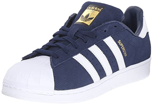 adidas superstar blue suede