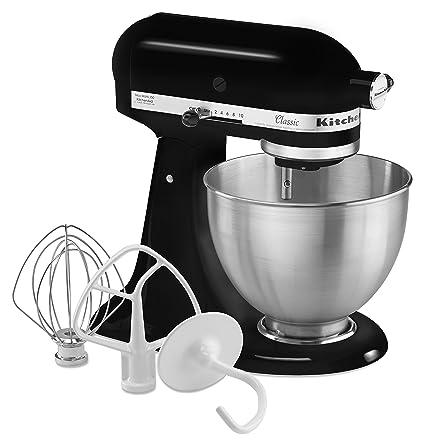 amazon com kitchenaid k45ssob 4 5 quart classic series stand mixer