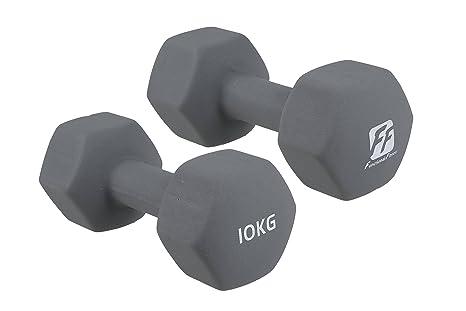 functionalfitness Neo Hex mancuernas par – 2 x 10 kg