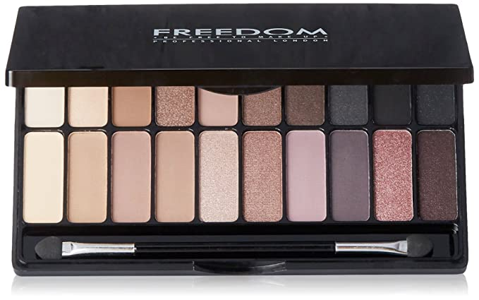 Freedom Makeup London Professional Eyeshadow Decadence Palette, Todays Tonight, 18g Make-up Palettes at amazon