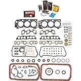 Evergreen Engine Rering Kit FSBRR2034\0\0\0 95-04 Toyota 4Runner Tacoma 5VZFE Full Gasket Set, Standard Size Main Rod Bearings, Standard Size Piston Rings