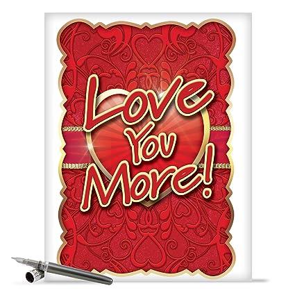 amazon com j2133 jumbo funny valentine s day greeting card jumbo