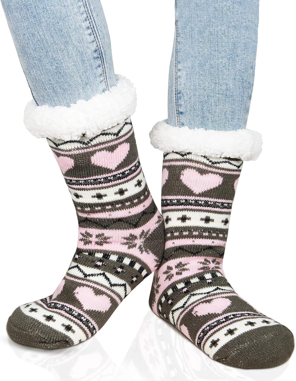 The Best Azue Fuzzy Socks For Women Winter Home