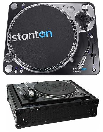 Amazon.com: Stanton T.92 M2 USB DIRECT-DRIVE propulsión USB ...