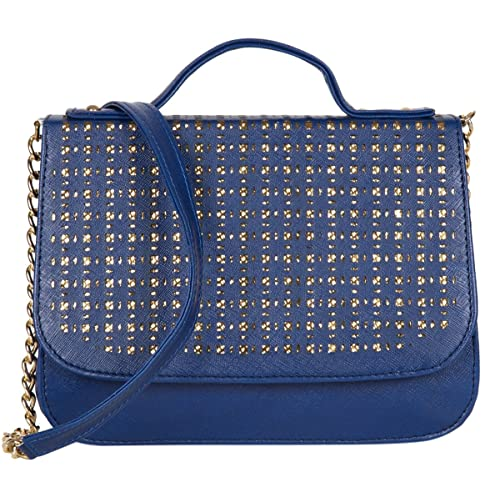 3d29417429f ADISA SL5004 blue women girls party sling bag  Amazon.in  Shoes ...