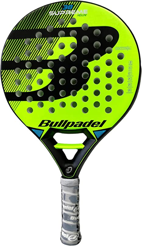 Pala de pádel Bullpadel Supreme Yellow: Amazon.es: Deportes y aire ...