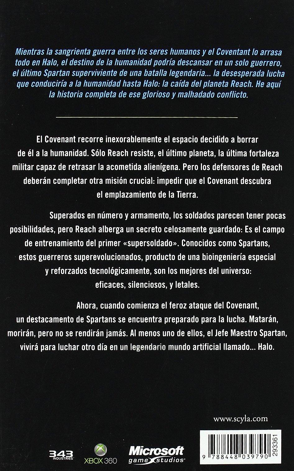 HALO: LA CAIDA DE REACH (HALO 01) CIENCIA FICCION: ERIC ...