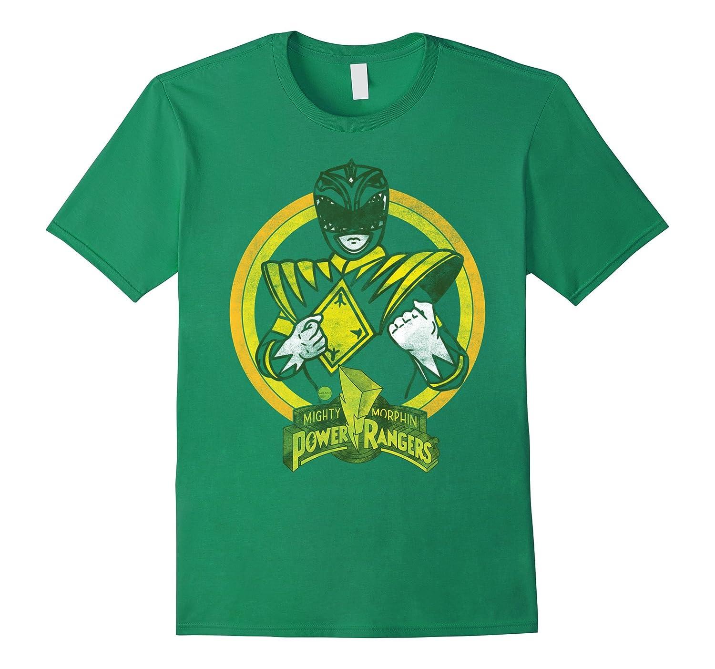 Power Rangers - Green Ranger Character T-Shirt-ah my shirt one gift