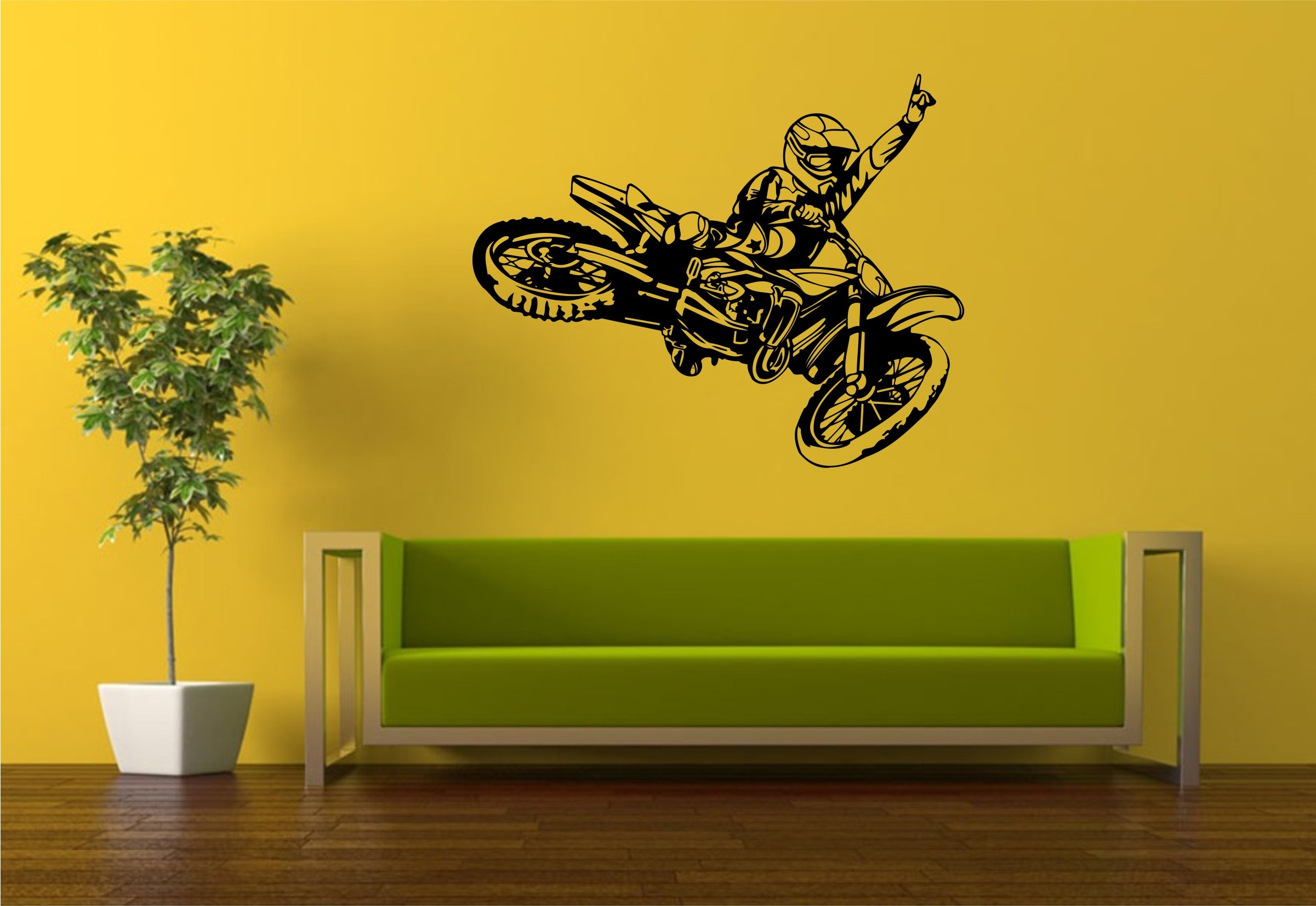 Dirtbike Room Decor: Amazon.com