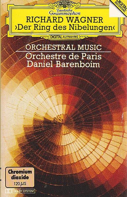 Wagner Barenboim Pages Orchestrales Tetralogie Daniel Barenboim Orchestre De Paris Amazon Fr Musique