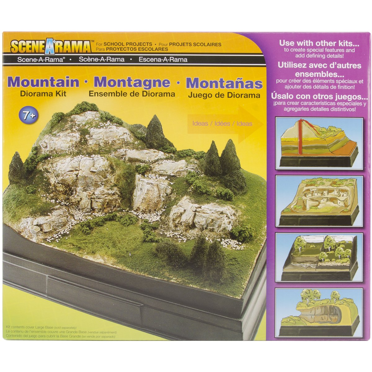 Mountains Diorama