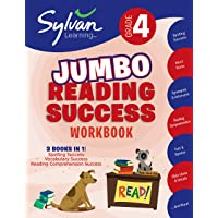 4th Grade Jumbo Reading Success Workbook: 3 Books in 1--Spelling Success, Vocabulary Success, Reading Comprehension…