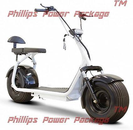 Amazon.com: e-wheels – Grasa Tire Eléctrico Scooter – 2 ...