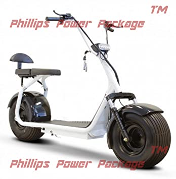 Amazon.com: e-wheels – Grasa Tire Eléctrico Scooter – 2 ...