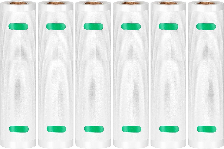 Kootek Vacuum Sealer Bags 6 Rolls 8