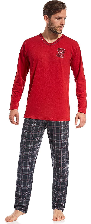 Cornette Pijama Conjunto Camiseta y Pantalones Hombre CR 121 2016