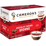 Cameron's Single Serve Coffee, Chocolate Caramel Brownie, 12 Count (packaging may vary)