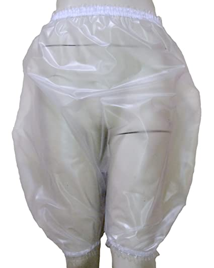 Near Clear Heavy Pvc Pants Panties Knickers Bloomers Size Xxl