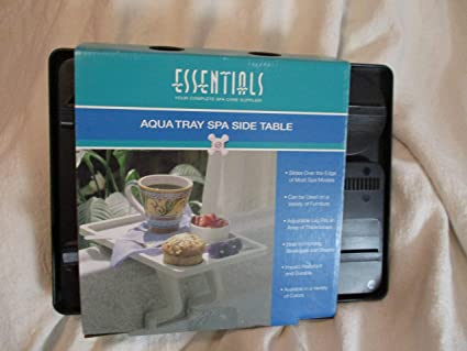 Amazoncom Aqua Tray Mate Spa Table Bone Garden Outdoor