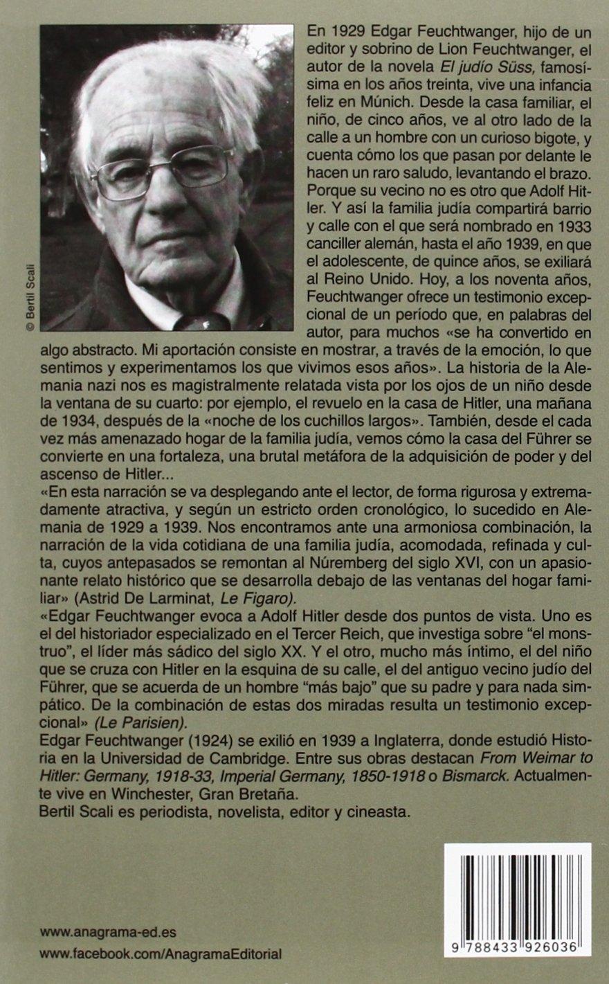 Hitler, mi vecino: Recuerdos de un niño judío Crónicas: Amazon.es ...