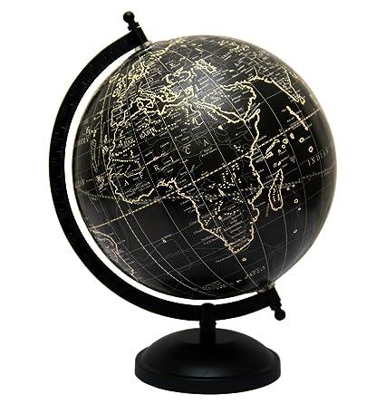 Antiguo Escritorio 8 pulgadas Diámetro globo de mesa giratoria ...