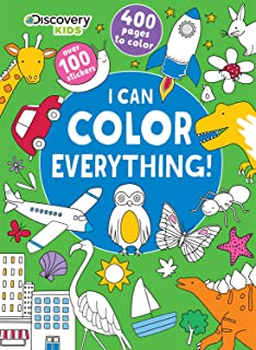 i can color everything discovery kids parragon books