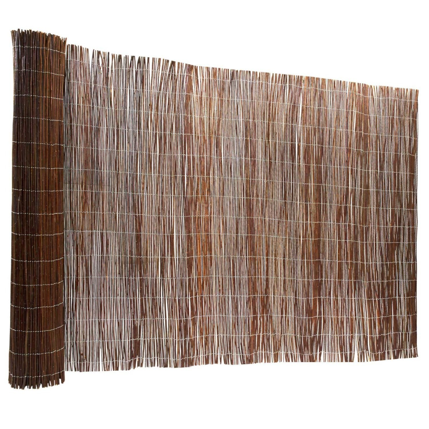 Forever Bamboo Willow Fencing, 6ft H x 16ft L