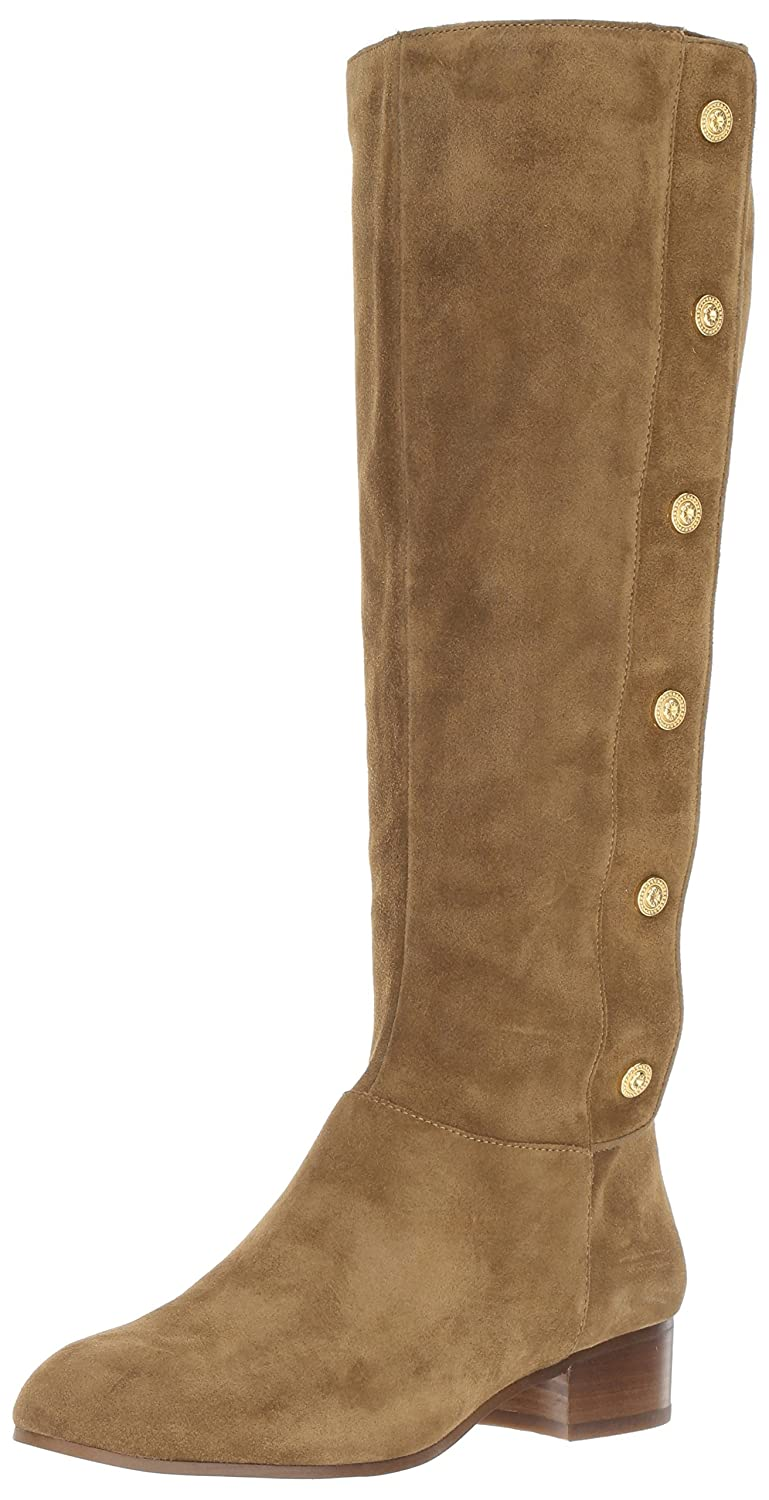 Nine West Women's Oreyan Knee High Boot B01NB1RQEY 10.5 B(M) US|Green Suede