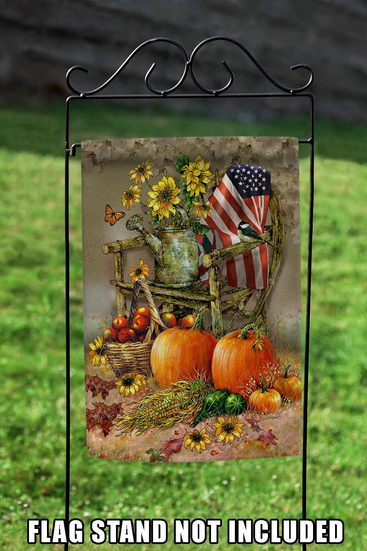 Amazon.com : Toland Home Garden 1112211 Autumn Chair 12.5 x 18 Inch ...