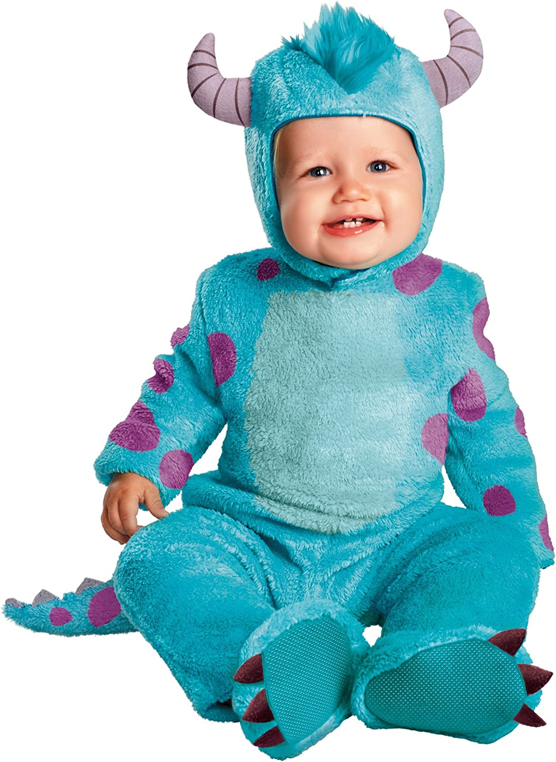 Amazon Com Disguise Costumes Disney Pixar Monsters University Sulley Classic Infant Clothing