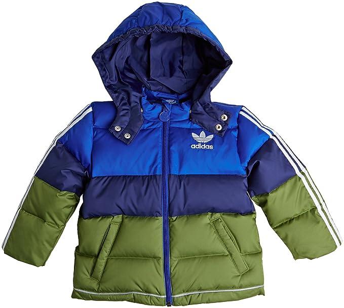 adidas Originals niños Kids chaqueta plumífero, infantil, azul