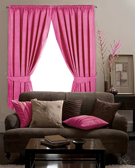 Amazon.com: CLEARANCE BLACKOUT CURTAINS Thermal Fully Lined Pencil ...